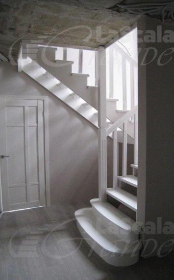П-образная лестница в дом на второй этаж Всеволжск
