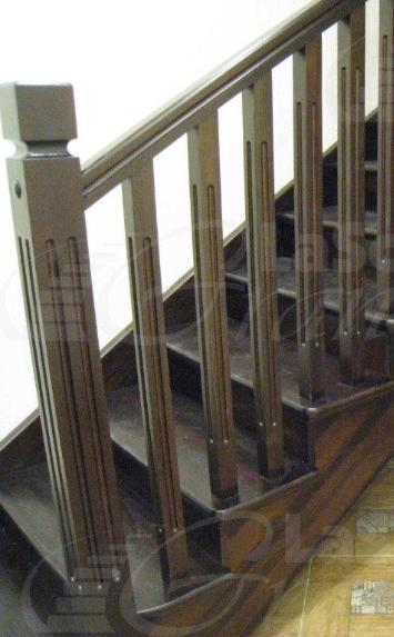 Лестница в дом из дуба на второй этаж - lascalagrande.ru