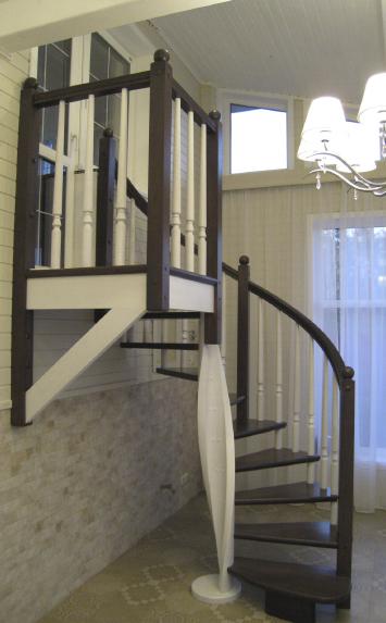 Винтовая лестница в дом ленинградская область