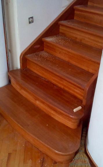Фаниполь лестница из дерева на второй этаж дома - lascalagrande.ru